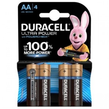 PILAS DURACELL ULTRA POWER AA BLISTER 4 UDS