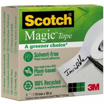 CINTA ADHESIVA MAGIC  900 30Mx19MM SCOTCH   (70005258689)