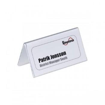 PORTANOMBRES SOBREMESA PVC 104x100 MM DURABLE