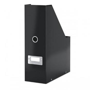 REVISTERO CARTON PLASTIFICADO NEGRO BOX SNAP & STORE LEITZ