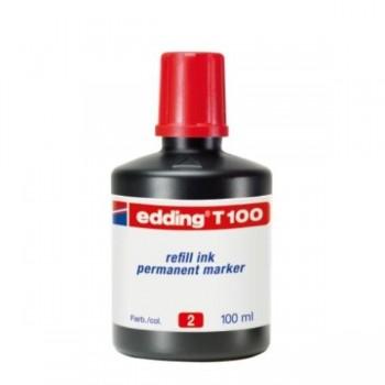 TINTERO EDDING 100ML RJ T-100-2