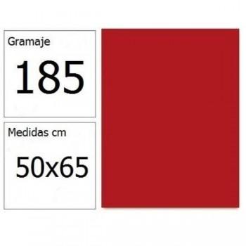 CARTULINA IRIS 50X65 185G GRANATE 25H.