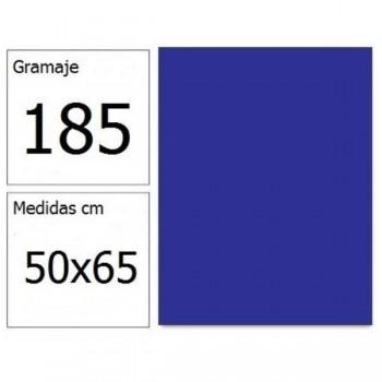 CARTULINA IRIS 50X65 185G AZ.ULTRAMAR 25H.