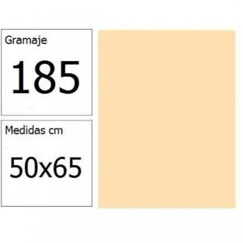 CARTULINA IRIS 50X65 185G CREMA 25H.