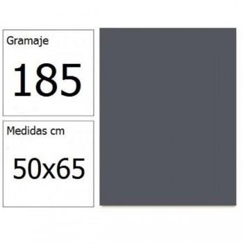 CARTULINA IRIS 50X65 185G GRIS PLOMO 25H.