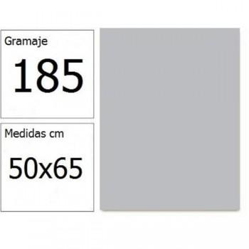 CARTULINA IRIS 50X65 185G GRIS PERLA  25H.