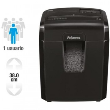 DESTRUCTORA 8MC MINICORTE 3X10H 8H FELLOWES