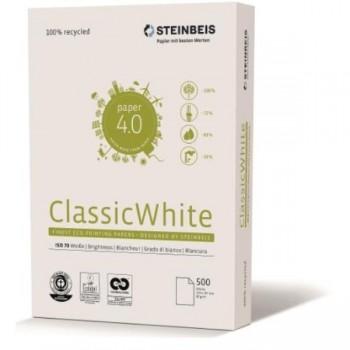 PAPEL A4 80G 500H - Steinbeis Classic White