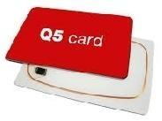 TARJETA ISO RFID LECTURA/ESCRITURA Q5 (PACK DE 200)